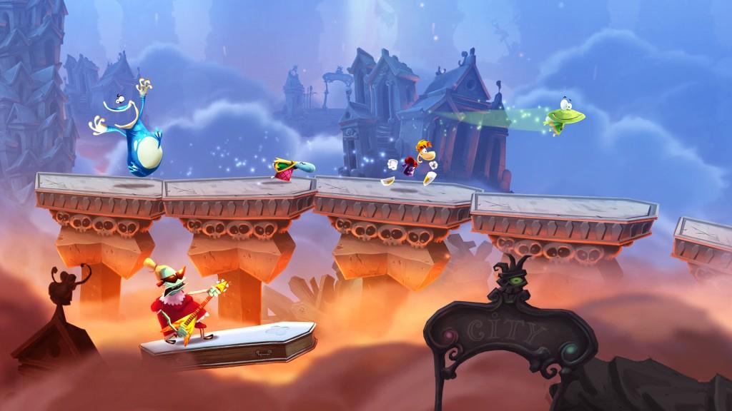 Rayman Legends se destaca por oferece gráficos excelentes
