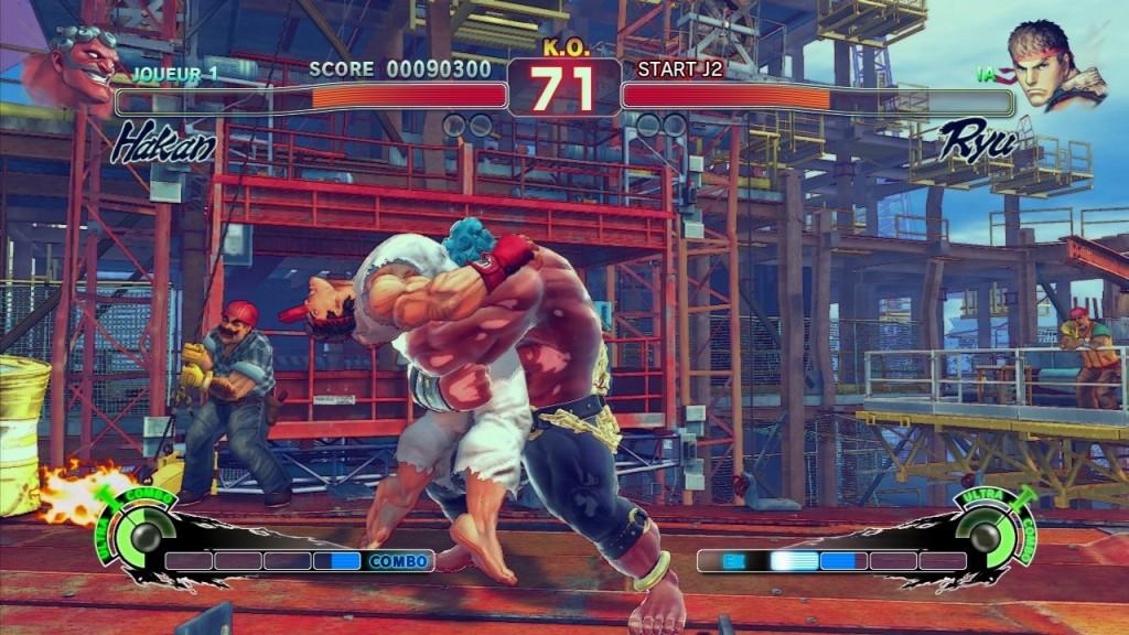 SUPER STREET FIGHTER IV 1