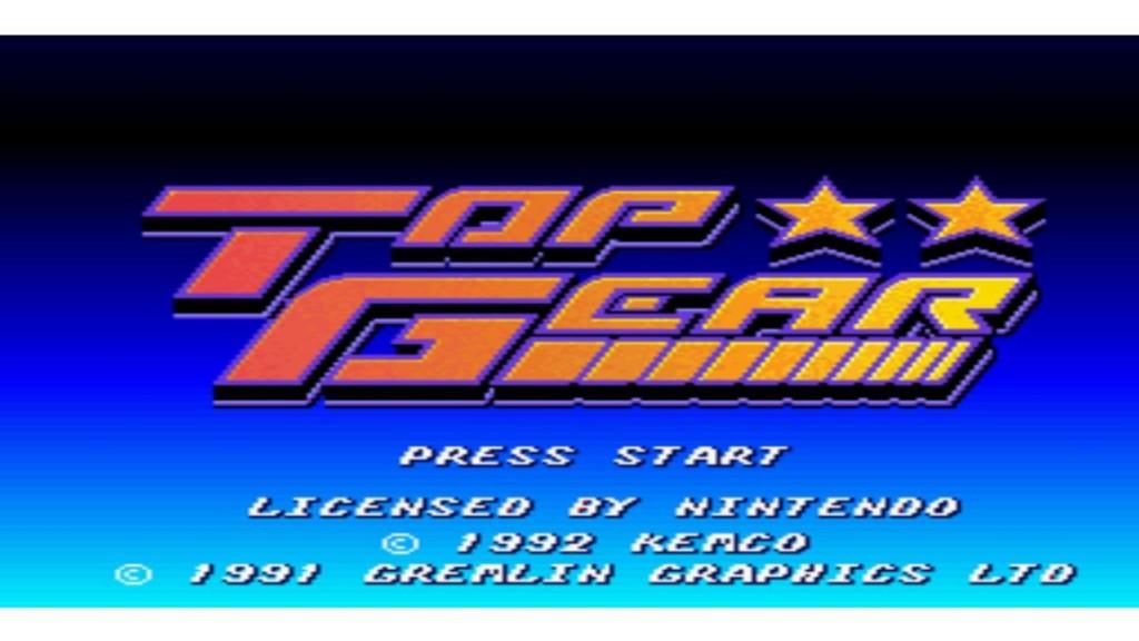 GAMECOIN - TOP GEAR 0