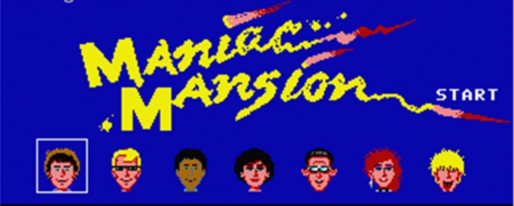 GAMECOIN MANIAC MANSION