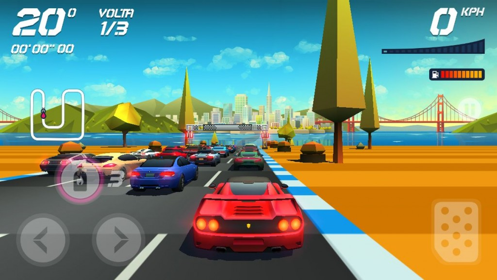 GAMECOIN - HORIZON CHASE 1