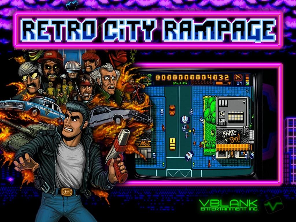 GAMECOIN - RETRO CITY RAMPAGE 01