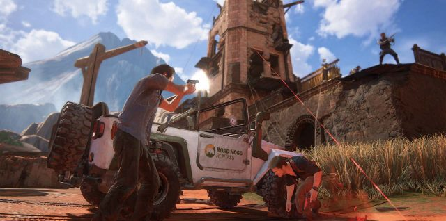 Uncharted 4 chega para PS4