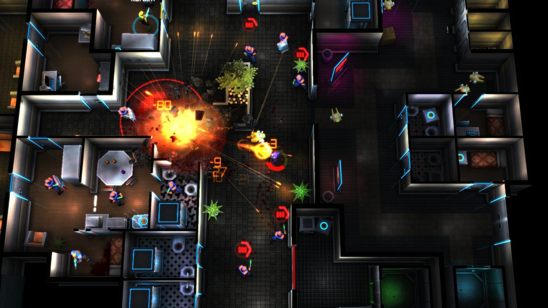 GAMECOIN NEON CHROME 01