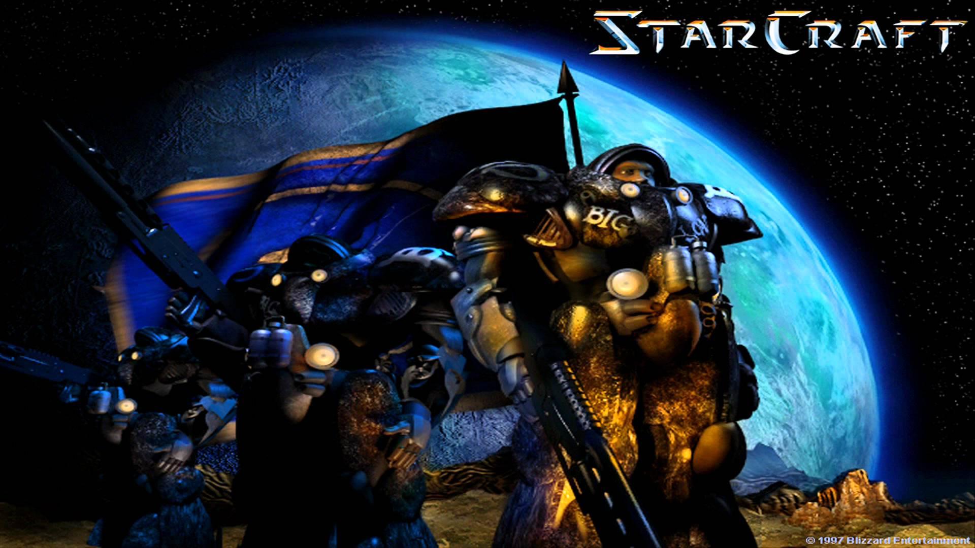 Starcraft foi publicado em 1998 para PC e Mac