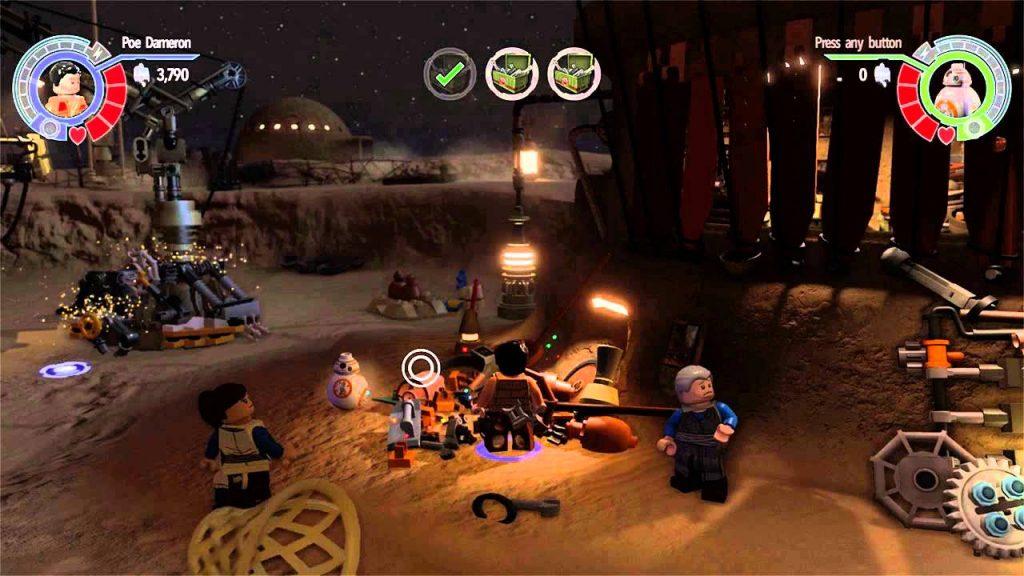 Игра лего звездные войны 2016 как открыть персонажи в лего гарри поттер 5 7