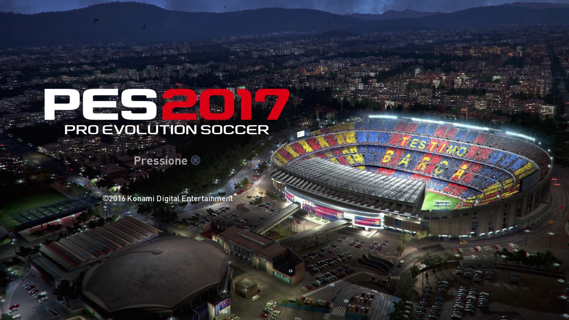 Demo de PES 2017 para PS4, PC, Xbox One, PS3 e xbox 360