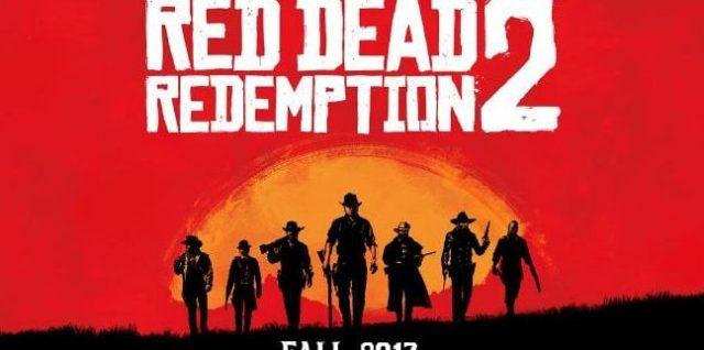 Red Dead Redemption 2 em 2017 para Xbox One e PS4