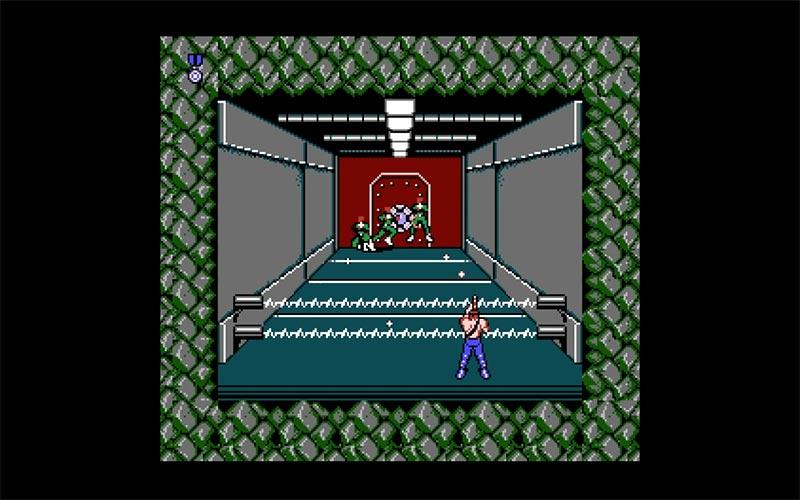 Contra game da Konami para NES