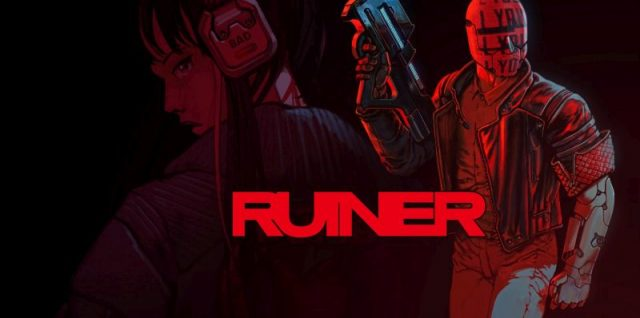 Ruiner tem DNA sangrento da Devolver Digital