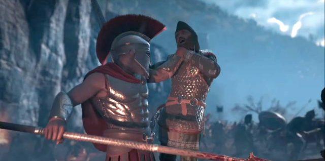 Assassin's Creed Odyssey – lute como Leônidas