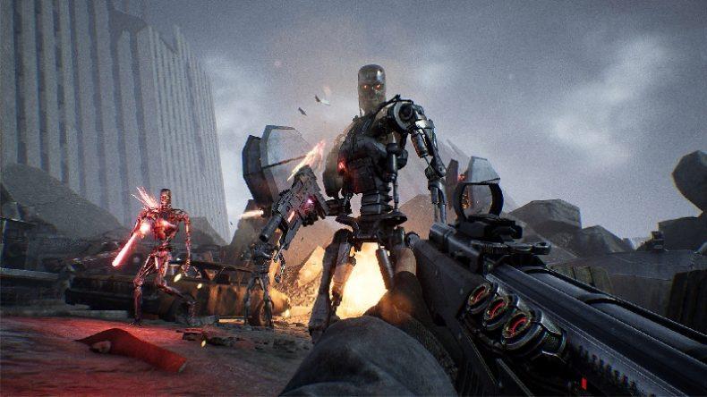 Terminator Resistance, game para PC, Xbox One e PS4