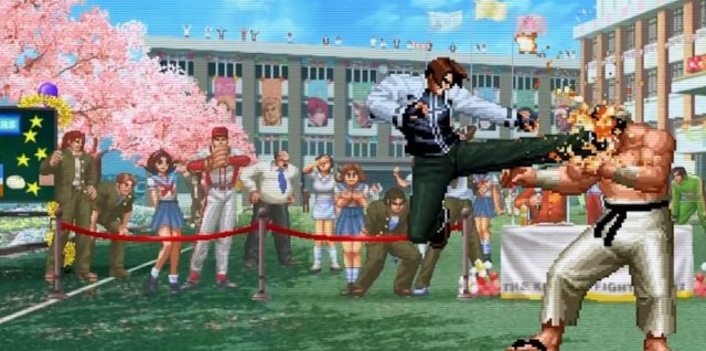 Review: The King of Fighters 2002 Unlimited Match
