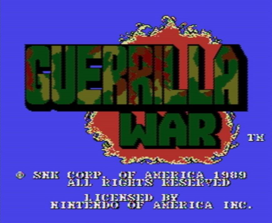 Guerrilla Wars